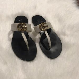 Gucci Marmont T-Strap Sandal